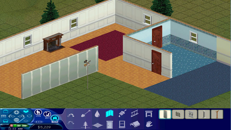 The Sims 1 - Building Mode 1