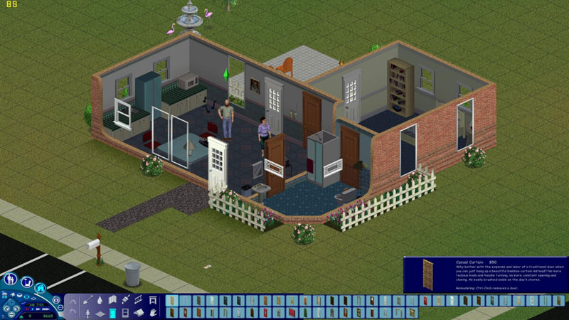 The Sims 1 - Building Mode 3