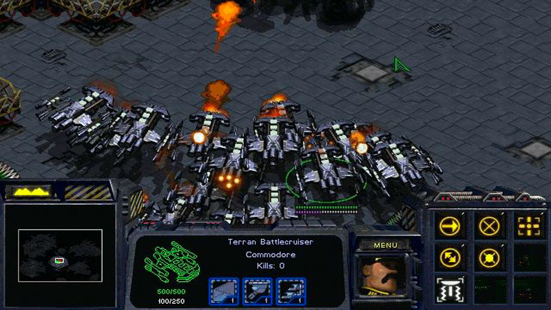 Starcraft 1 - BattleCruiser